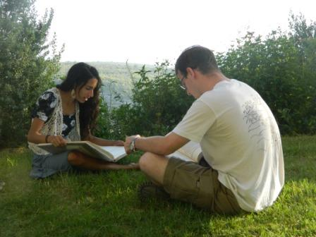 Israel program- learning outside