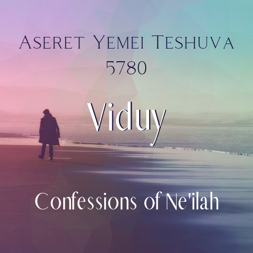 Viduy: Confessions of Ne'ilah