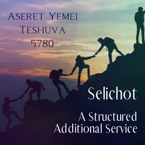 Selichot: A Structured Additional Service
