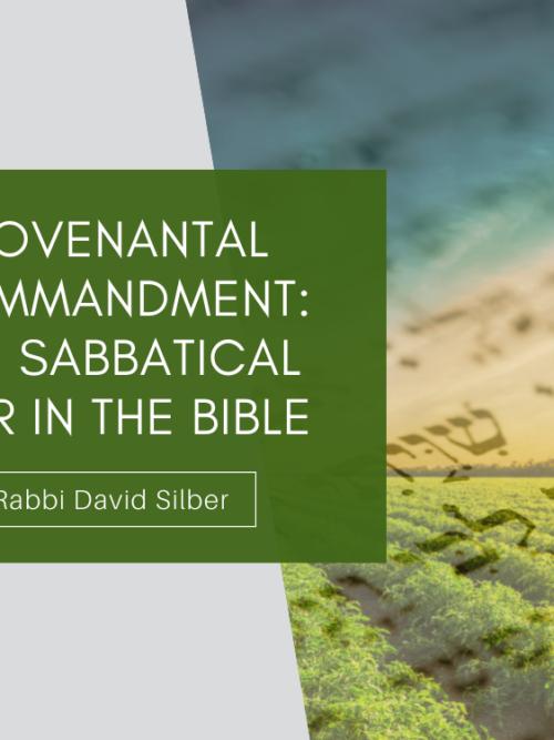 Covenantal Commandment