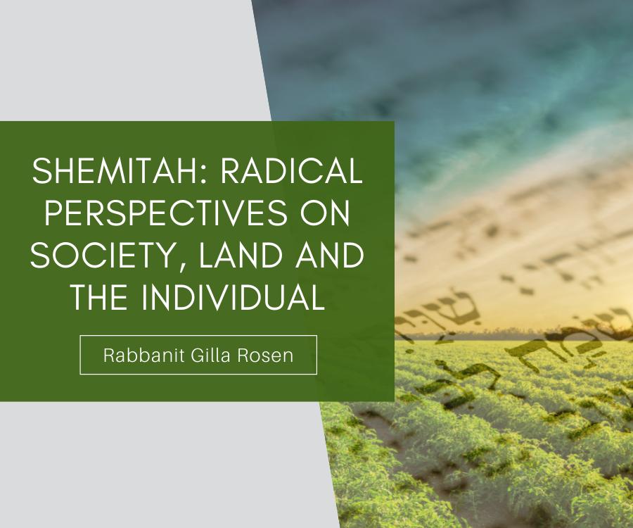 Shemitah: Radical Perspectives